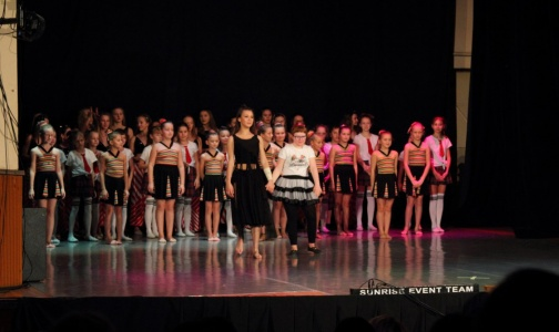 Charity ballet performance